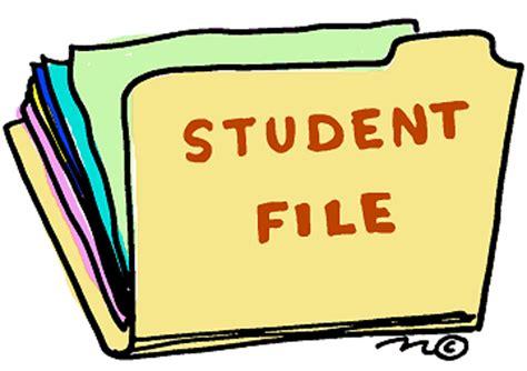 High school student academic resume